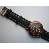 Часы Ted Lapidus, Swiss Made!,кварцевый хронограф!Как Новые!