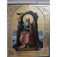 Икона Святой Пророк Иилия. Сусалка. Супер!