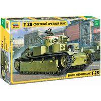 ЗВЕЗДА 3694 - Советский средний танк Т-28 / Сборная модель 1:35