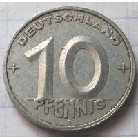 Германия - ГДР 10 пфеннигов, 1950     А       ( 6-3-4 )