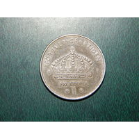 Швеция 1 крона 2003