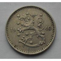 Финляндия 1 Марка 1940 (110)