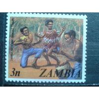 Замбия Танцы аборигенов**