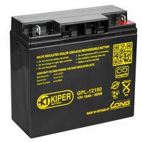 Аккумуляторная батарея Kiper GPL-12180 12V/18Ah ПОВЫШЕННЫЙ СРОК СЛУЖБЫ