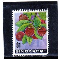 Сингапур. Ми-201. Азиатская медная пчела (Apis javana). Серия: насекомые. 1988.