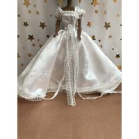 Свадебное платье для куклы Барби