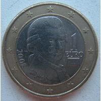 Австрия 1 евро 2008 г.
