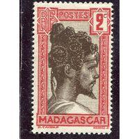 Мадагаскар. Французская колония. Голова мужчины