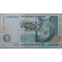 Южно-Африканская Республика ЮАР 10 ранд 1999 г.