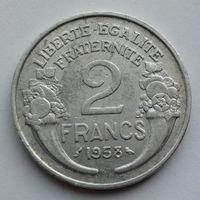 Франция 2 франка. 1958
