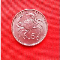 04-35 Мальта, 5 центов 1986 г.