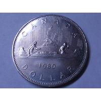 Канада 1 доллар 1980 г.Корабль.