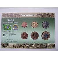 Бразилия, набор монет