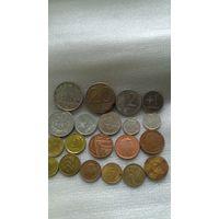 Монеты с 1 рубля .Без МЦ