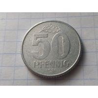 Германия - ГДР 50 пфеннигов, 1958