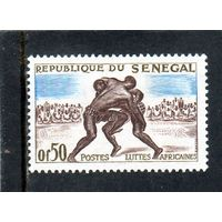 Сенегал.Ми-246.Спорт.Борьба.1961.