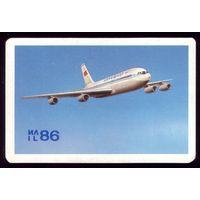 Календарик Ил-86