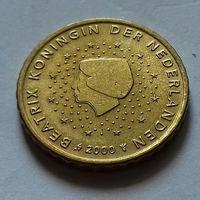10 евроцентов, Нидерланды 2000 г.