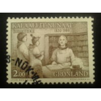 Дания Гренландия 1980 библиотека