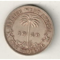Британская Западная Африка 1 шиллинг 1949