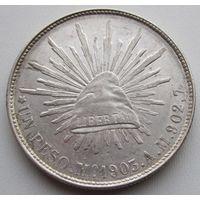 Мексика, песо, 1903, серебро