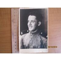 Фото танкиста 1946 г.