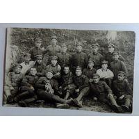Фото военных 1929 г. СССР. Размер 6.5-10.5 см.