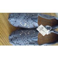 Летние туфли, размер 8 (стелька 24,5 см)