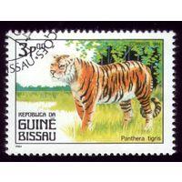 1 марка 1984 год Гвинея-Бисау Тигр 779