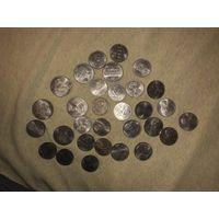 Набор монет СССР от 1 до 5 рублей
