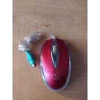 Мышь компьютерная, б/у, не проверялась