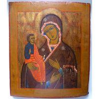 Икона Божией Матери ТРОЕРУЧИЦА.19 Век.Классический Аналой!