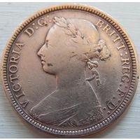6. Великобритания пол пенса 1884 год.