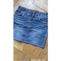 Юбка джинсовая на 46-48