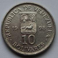 Венесуэла, 10 боливаров 1998 г
