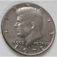 "США 1/2 доллара, 1972 ""D"" - Денвер 1-12-9"
