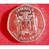 1 доллар (Ямайка;Бустаманте ) 2005