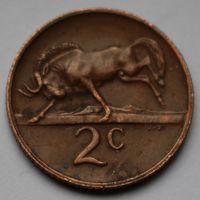ЮАР, 2 цента 1973 г