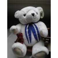Мишка коллекционный  Белый The Classic Bear (Seul. Korea)