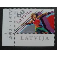 Латвия 2012 метание копья