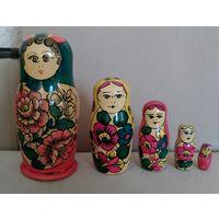 Матрёшки СССР Набор 5 шт Высота 18 см