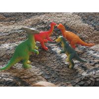 4 ящера игрушки