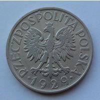 Польша 1 злотый. 1929