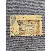 Литва 2002. Lietuvos vardas pirma karta