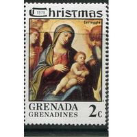 1975 Гренада живопись религия Рождество **