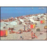 ДМПК СССР 1981 Батуми пляж корабли