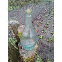 Бутылка белая
