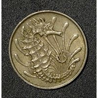 Сингапур 10 центов 1968