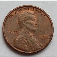 1 цент 1974