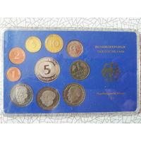 Набор монет ФРГ 1983